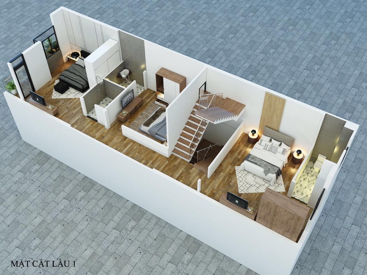 thiết kế và thi công nhà