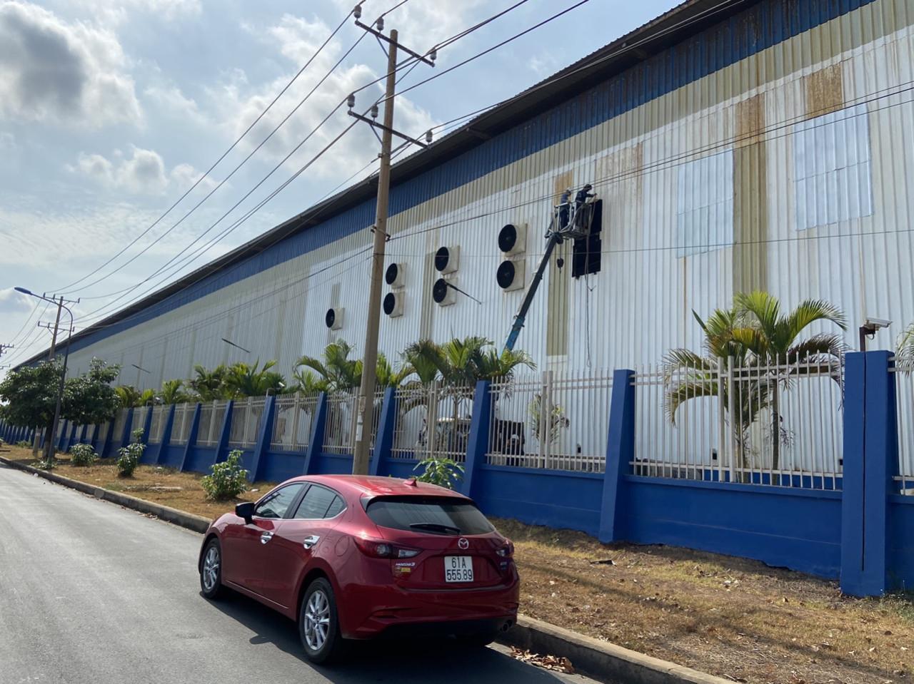xây dựng nhà xưởng happyco